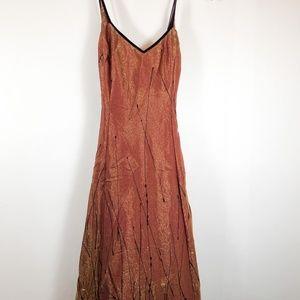 Adrianna Papell Vintage Evening Shimmer Dress